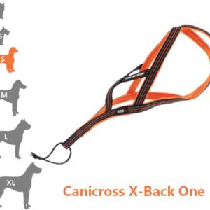 Harnais Canicross X-Back One pour petit chien