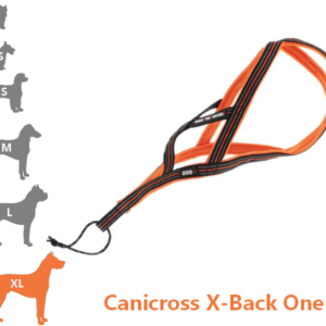 Harnais Canicross X-Back One pour très grand chien