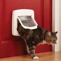 Staywell® Chatière de luxe à verrouillage magnétique 4 positions chat